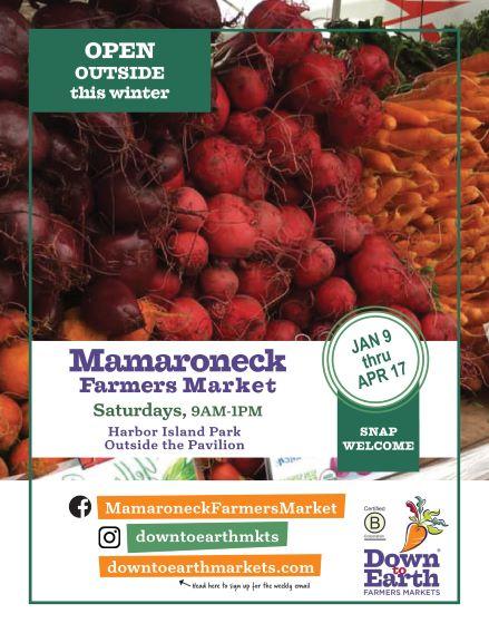 Down to Earth Farmers Market Flyer