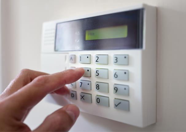 Alarm System Keypad SMALL PNG