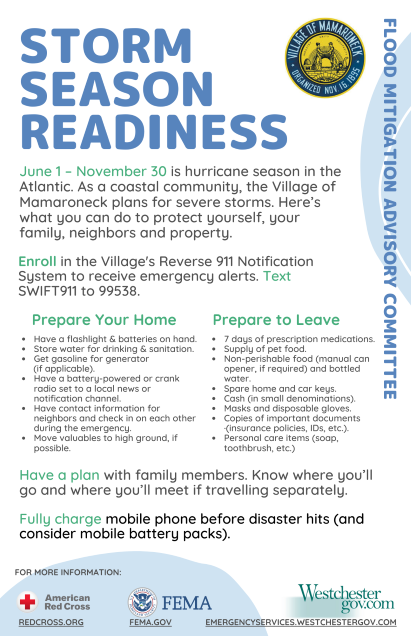 Storm Season Readiness Flyer SMALL PNG