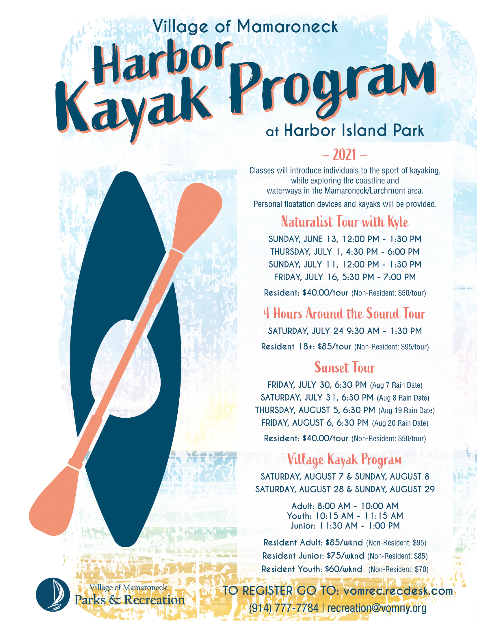 Harbor Kayak 2021