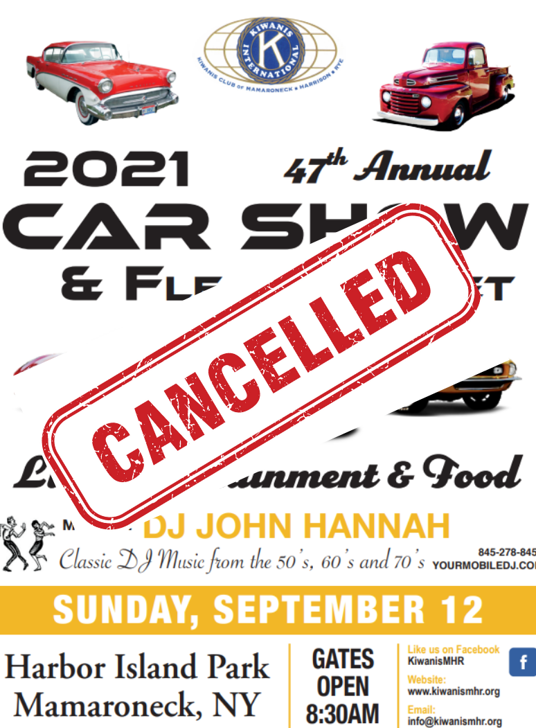 Kiwanis Club Car Show Poster