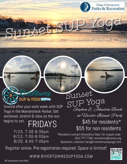 SUP Yoga at Sunset