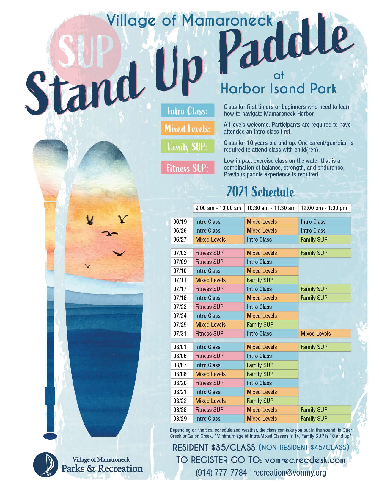 Stand Up Paddle 2021 at Harbor Island Park